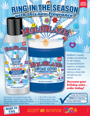 RING IN THE SEASON…HOLIBLAZE NOW AVAILABLE!