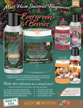 MUST HAVE SEASONAL FRAGRANCES NOW AVAILABLE!